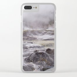 Rotorua New Zealand Clear iPhone Case