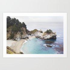 McWay Falls in Big Sur Art Print