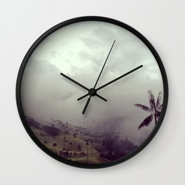 Valle del Cocora Wall Clock