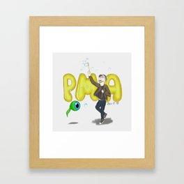 Positive Mental Attitude Framed Art Print