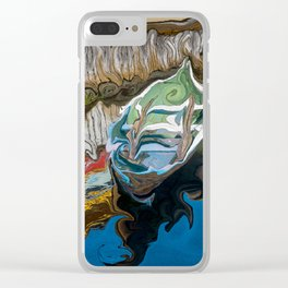 Norwegian Row Boat And Reflections Clear iPhone Case
