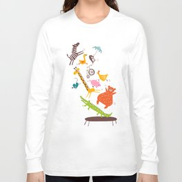 trampolinists Long Sleeve T-shirt