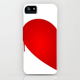 Half Heart Woman iPhone Case