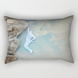 Cliffhanger Rectangular Pillow