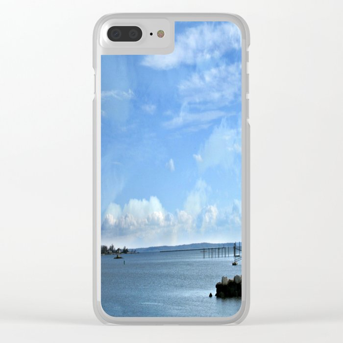 On A Clear Day Clear iPhone Case