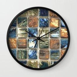 Tile 6 Wall Clock