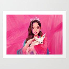 BLACKPINK Jennie Art Print