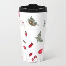 Tatemae Japanese White Travel Mug