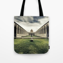 Monumental Cemetery of Pisa Tote Bag