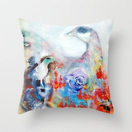 No Turning Back Throw Pillow