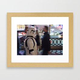 Stormtrooper Las Vegas Framed Art Print