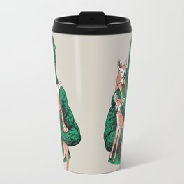 Fawns Meet Kaiju Travel Mug