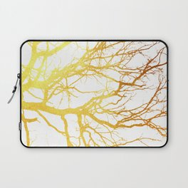 Gold Branches Laptop Sleeve