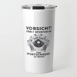 Target shooting Travel Mug