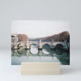 Ponte Sant'Angelo Mini Art Print