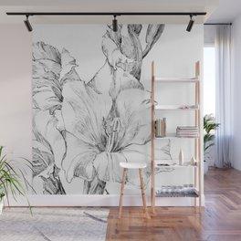Julie de Graag - Gladiolus Wall Mural
