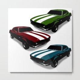 Camaro Trio Metal Print