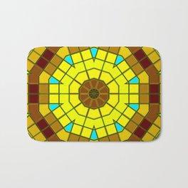 Glass Kaleidoscope Bath Mat