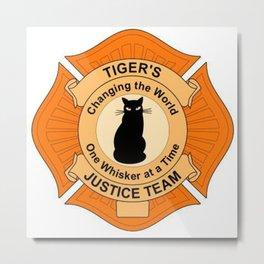 Tiger's Justice Team Metal Print