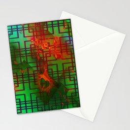 Shambala Matrix by Kenny Rego Stationery Cards