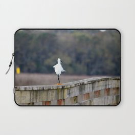 Snowy Walking The Line Laptop Sleeve