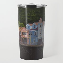 Ketchikan's Creek Street Travel Mug
