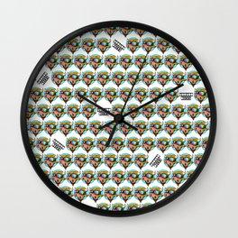 Moo Moo Print Wall Clock