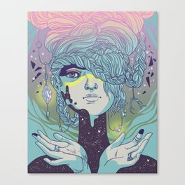 Braided Reality Check Canvas Print