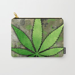 Weed Leaf Carry-All Pouch
