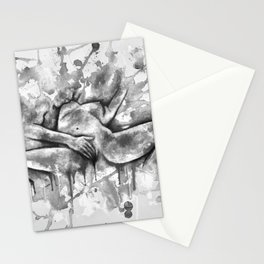 Colorful Climax b&w Stationery Cards