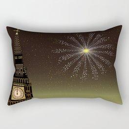 Big Ben And New Year Rectangular Pillow