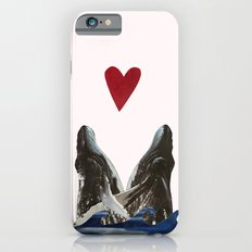 Whales in Love Slim Case iPhone 6s