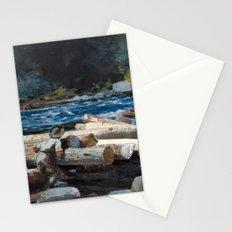 Winslow Homer - Hudson River, 1892 Stationery Cards