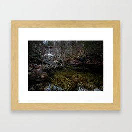 Lurking Giant Framed Art Print