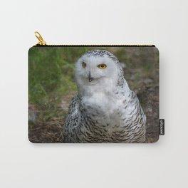 Alaskan Snowy Owl - Summer Carry-All Pouch