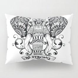 Mandala Elephant Pillow Sham
