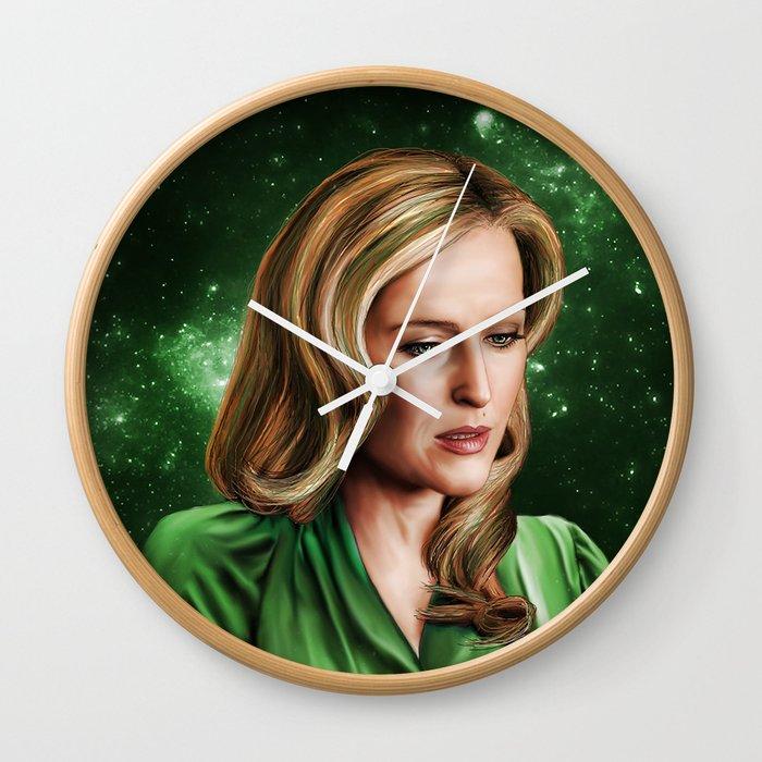 Hannibal 'Bedelia Du Maurier' Galaxy Art Print Wall Clock