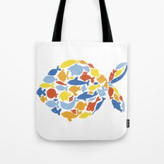 fish of fishes Tote Bag