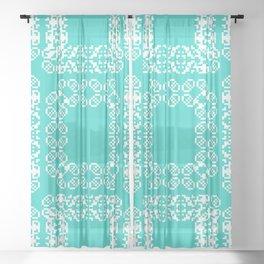 "CA Fantasy ""For Tiffany"" series #4 Sheer Curtain"