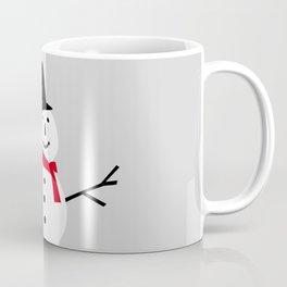 Christmas Snowman-Gray Coffee Mug