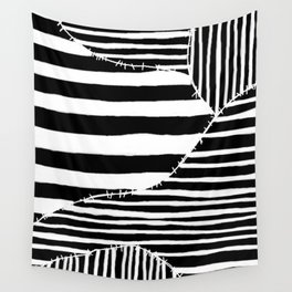 Stripes & Stitches Wall Tapestry