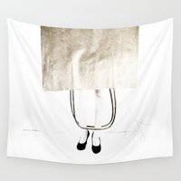 tote bag Wall Tapestries featuring lucky bag by Kay Weber