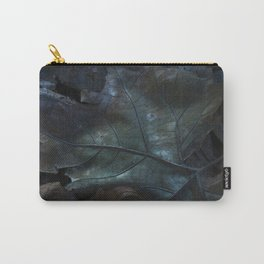 Leaves of Blue Carry-All Pouch