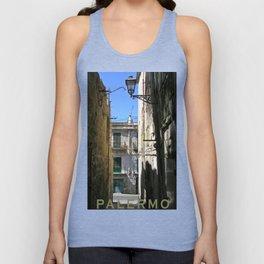 Antique Alley - Palermo - Sicily Unisex Tank Top