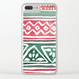 Tribal3 Clear iPhone Case