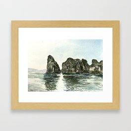 Ha Long Bay, Vietnam Framed Art Print