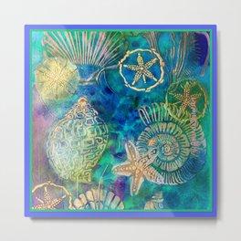 SeaFloor Treasure Metal Print