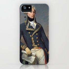Portrait of Lafayette by Joseph désiré Court iPhone Case