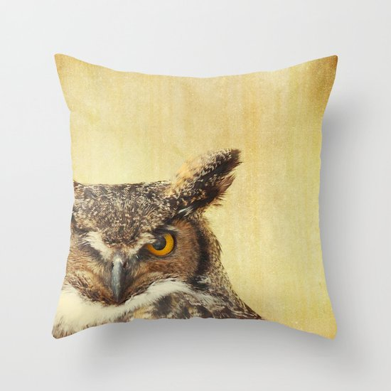 Hoo Hoo Throw Pillow