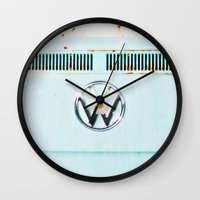 hippie Wall Clocks featuring Hippie Chic by RDelean